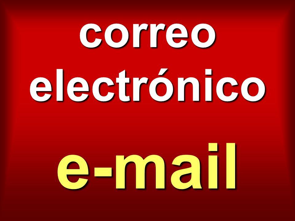 correo electrónico e-mail