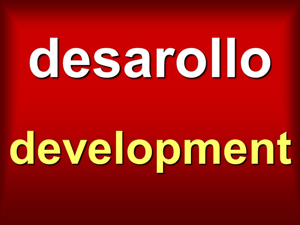 desarollo development