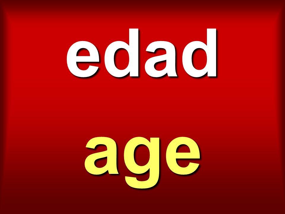 edad age