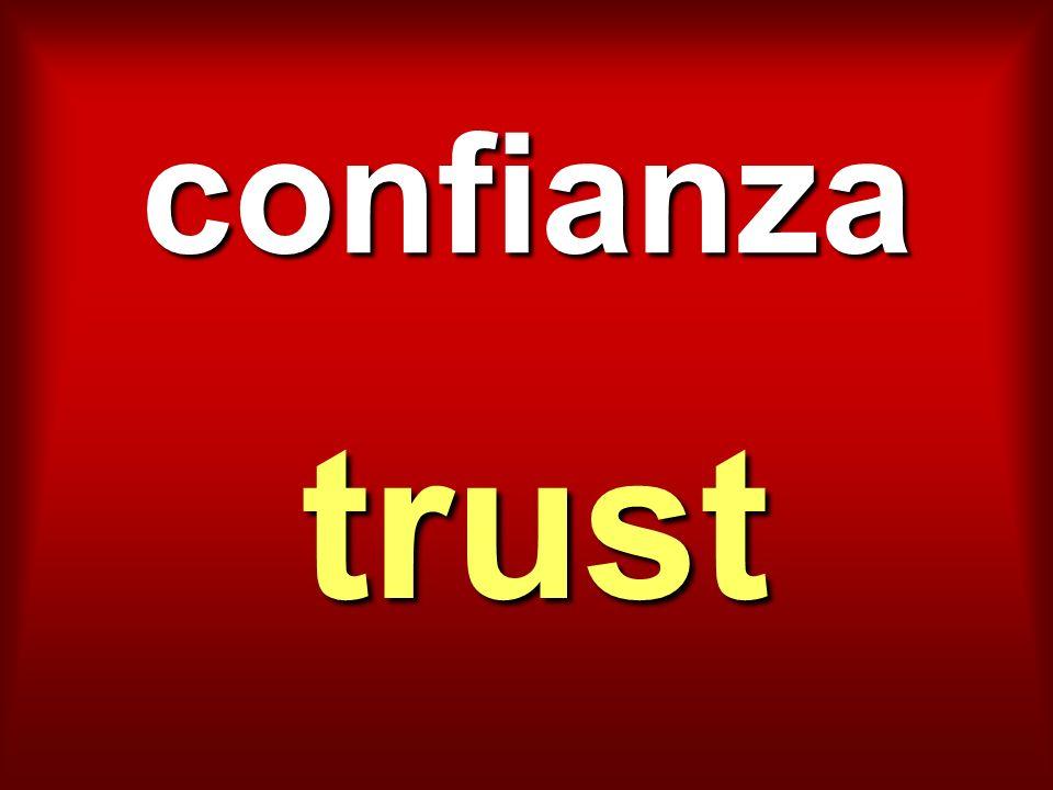 confianza trust
