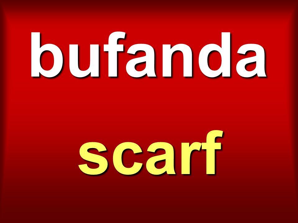 bufanda scarf
