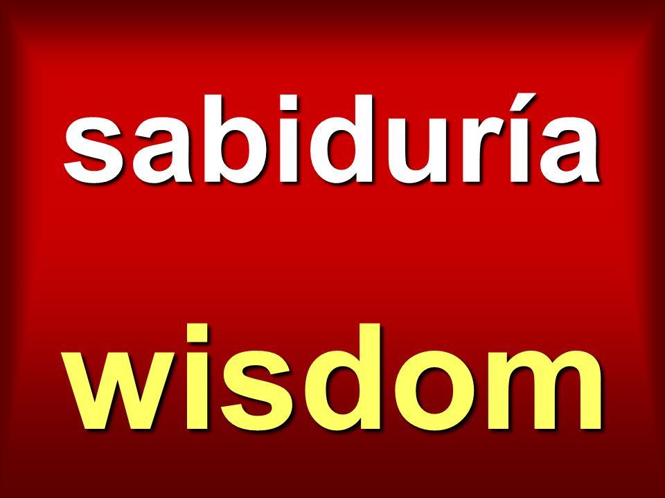 sabiduría wisdom