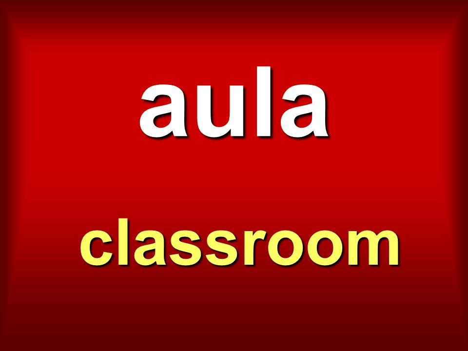 aula classroom