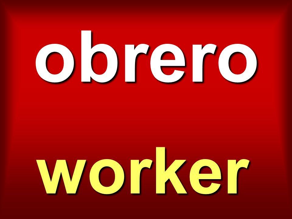 obrero worker