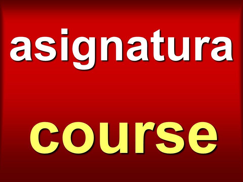 asignatura course