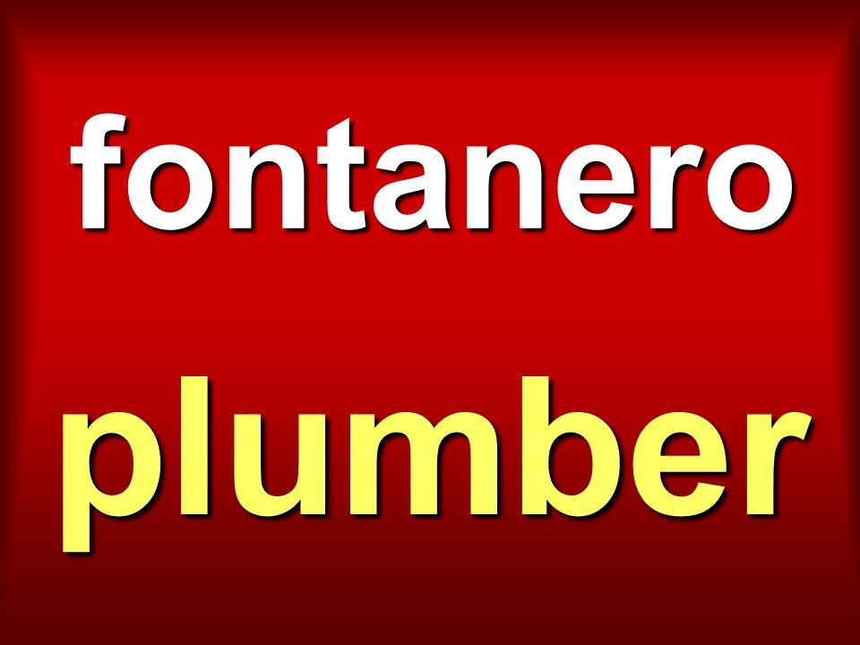 fontanero plumber