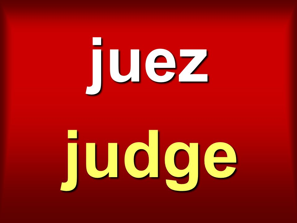 juez judge