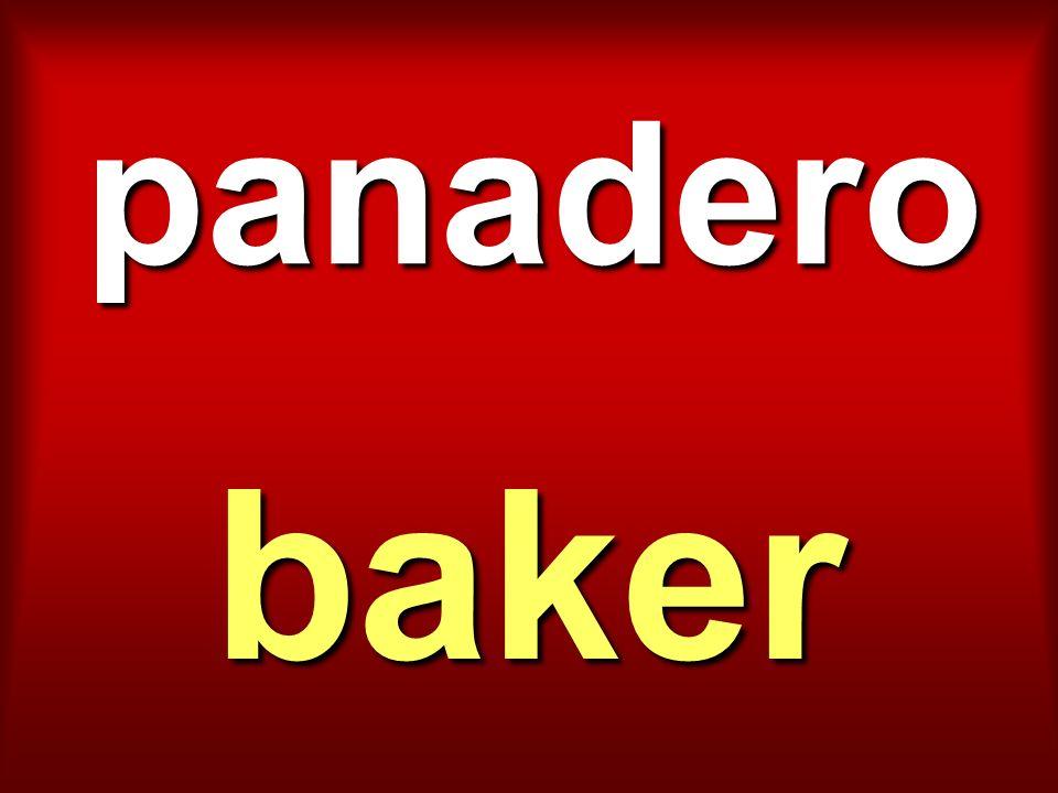 panadero baker