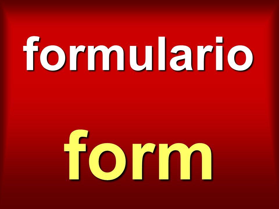 formulario form