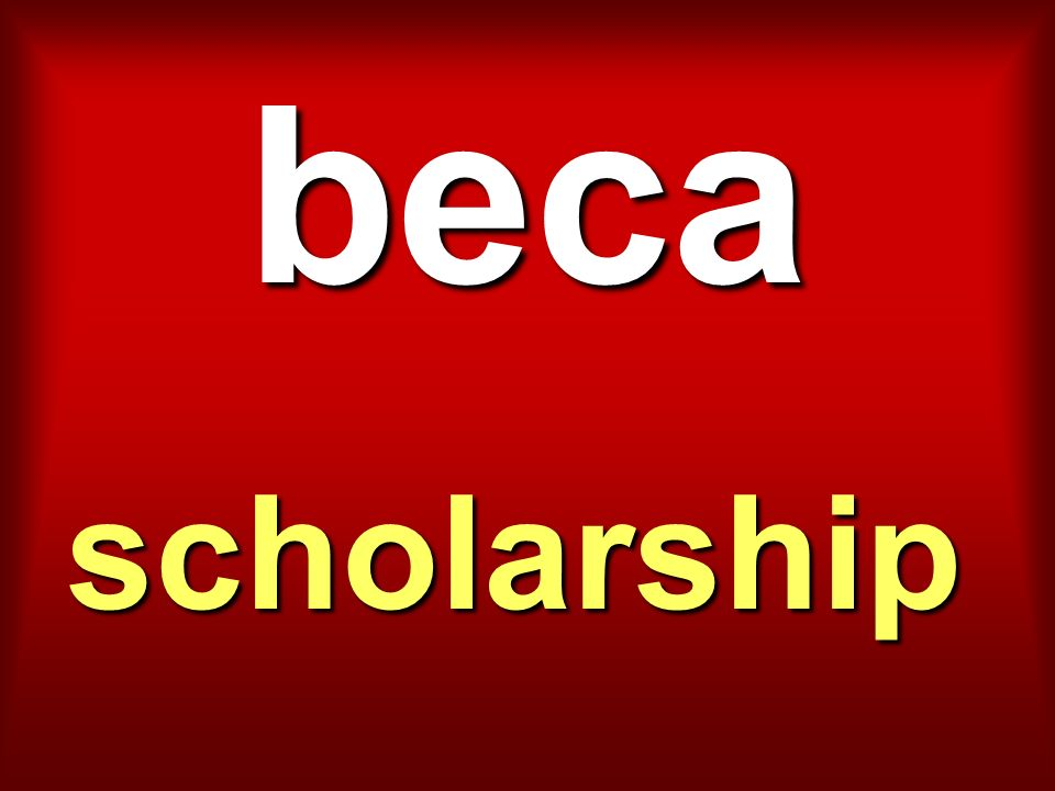 beca scholarship