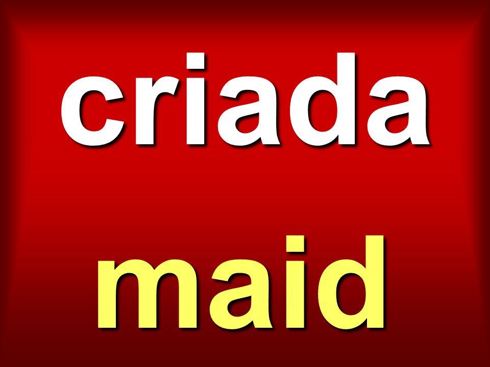 criada maid