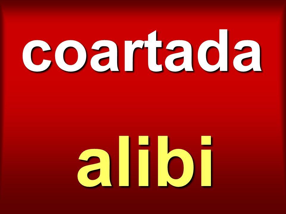 coartada alibi