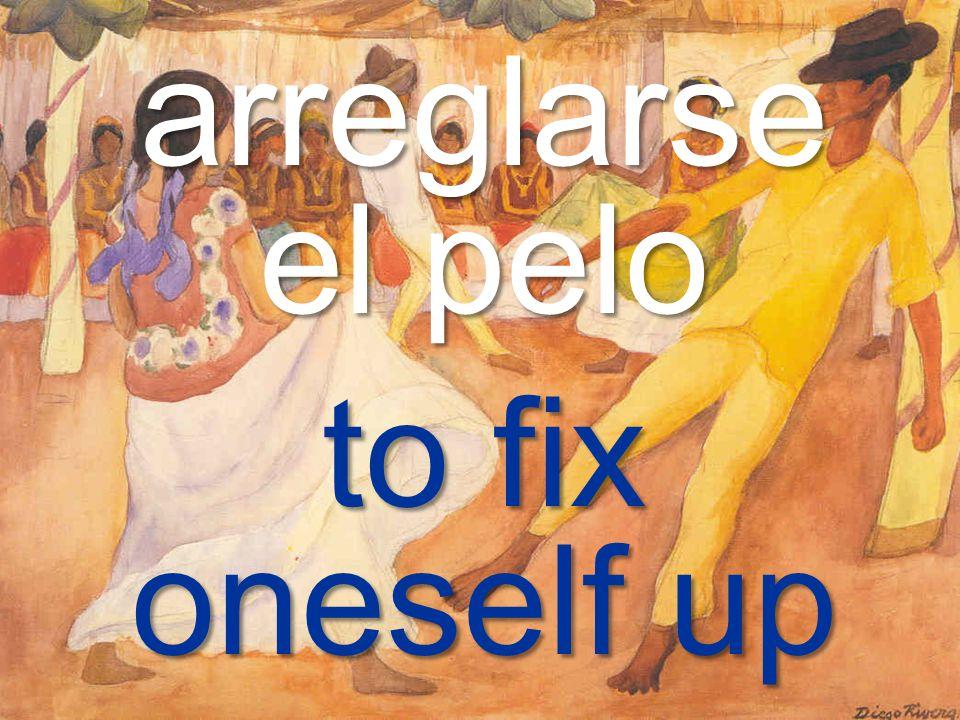 Capítulo 2A – Los verbos reflexivos Diego Rivera (México) – Baile en Tehuantepec
