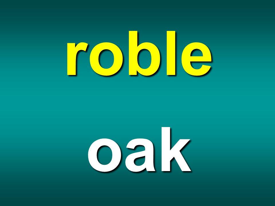 roble oak
