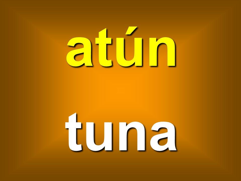 atún tuna