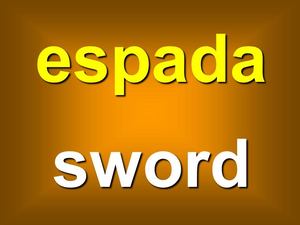 espada sword