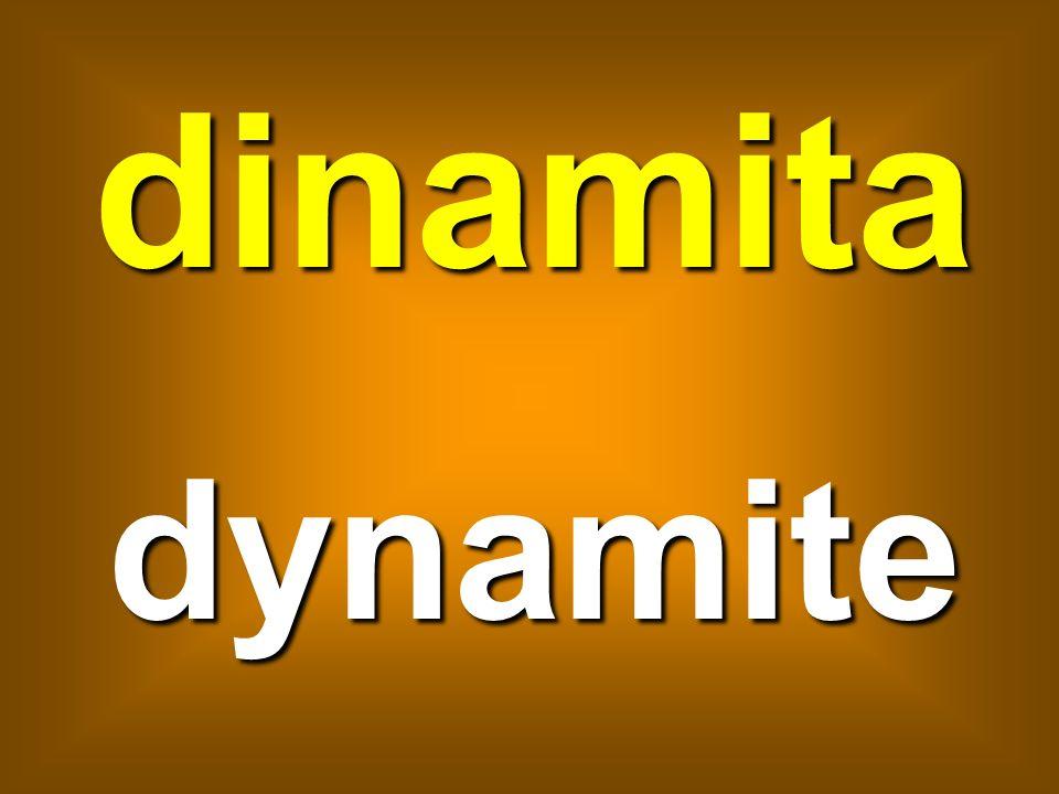 dinamita dynamite
