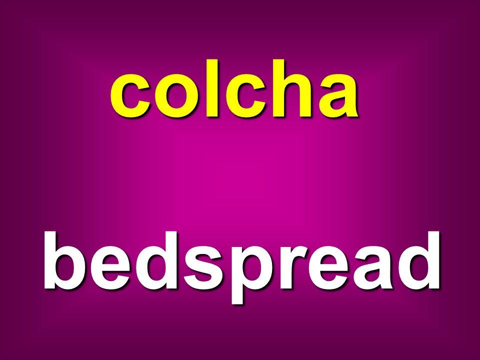 colcha bedspread