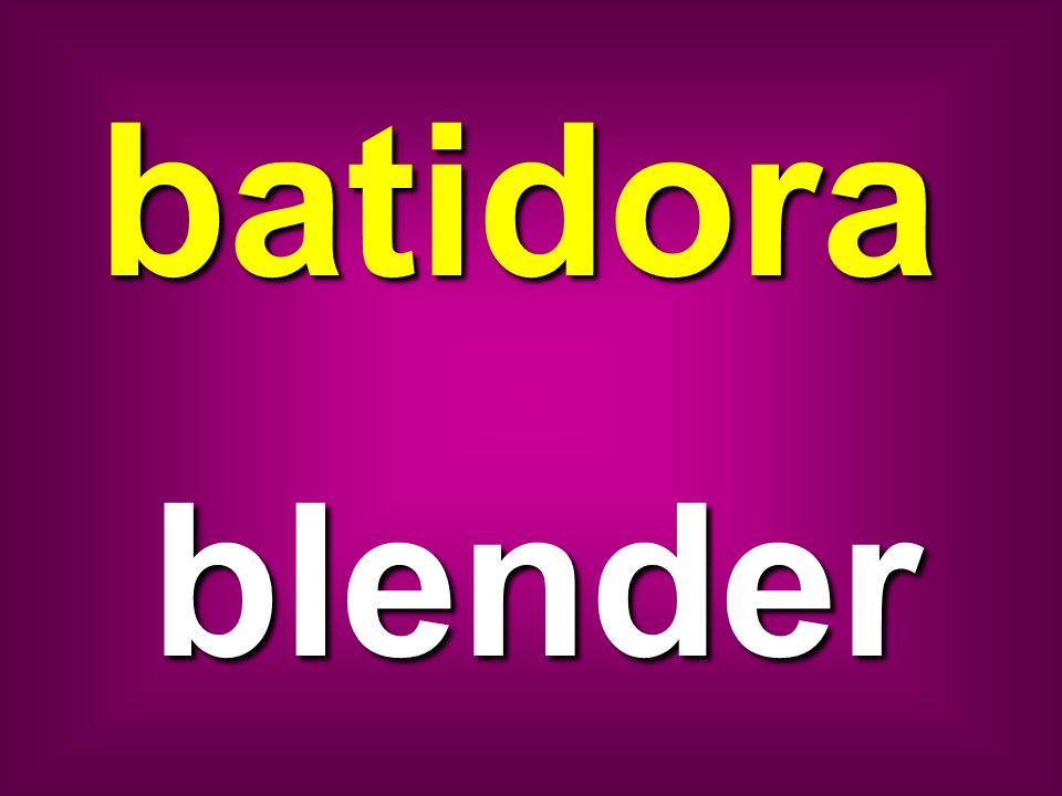 batidora blender
