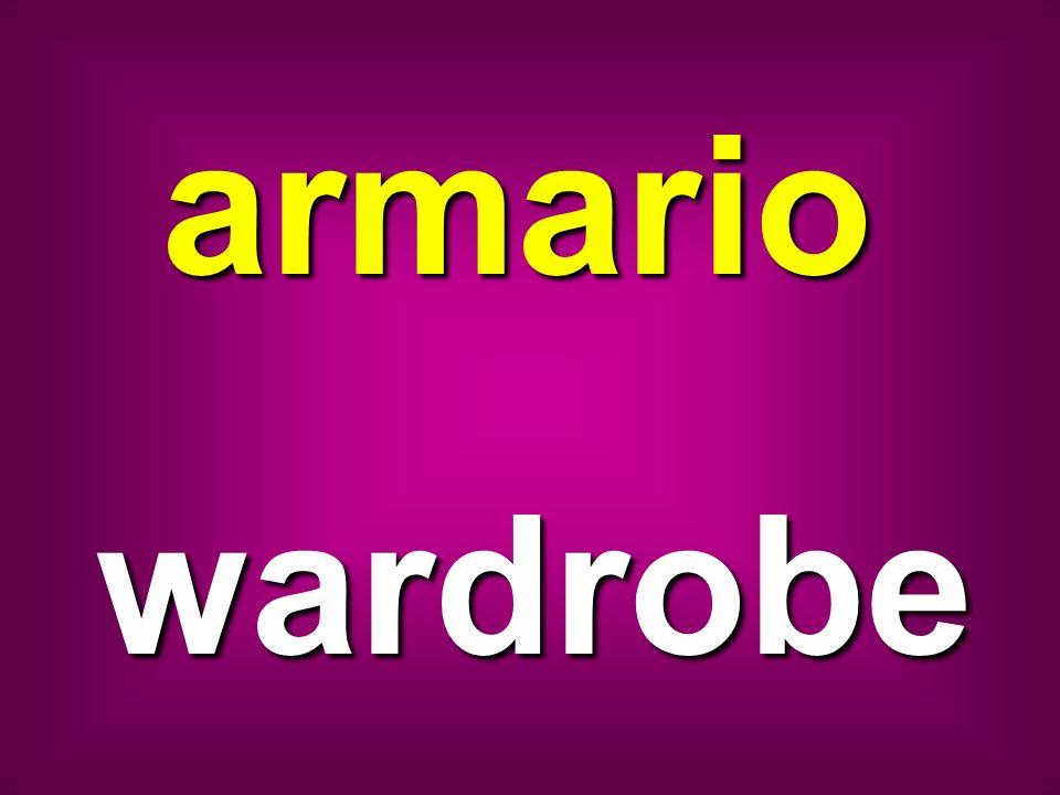 armario wardrobe