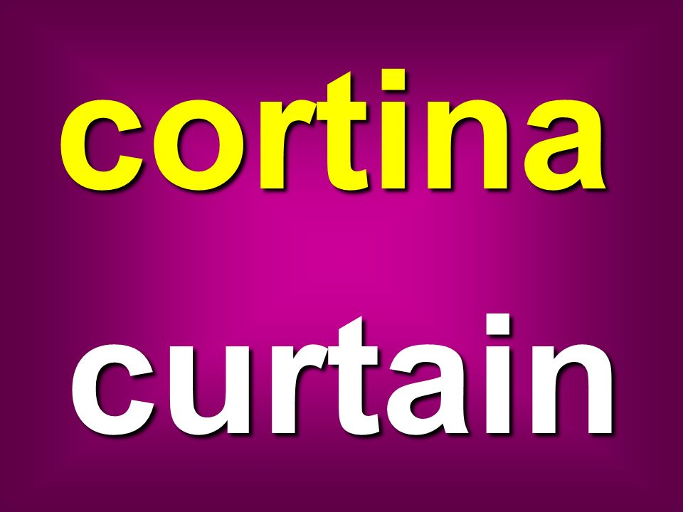 cortina curtain