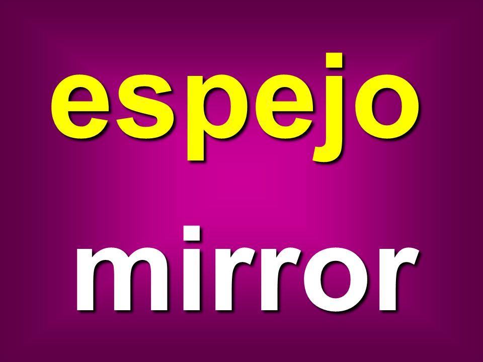 espejo mirror