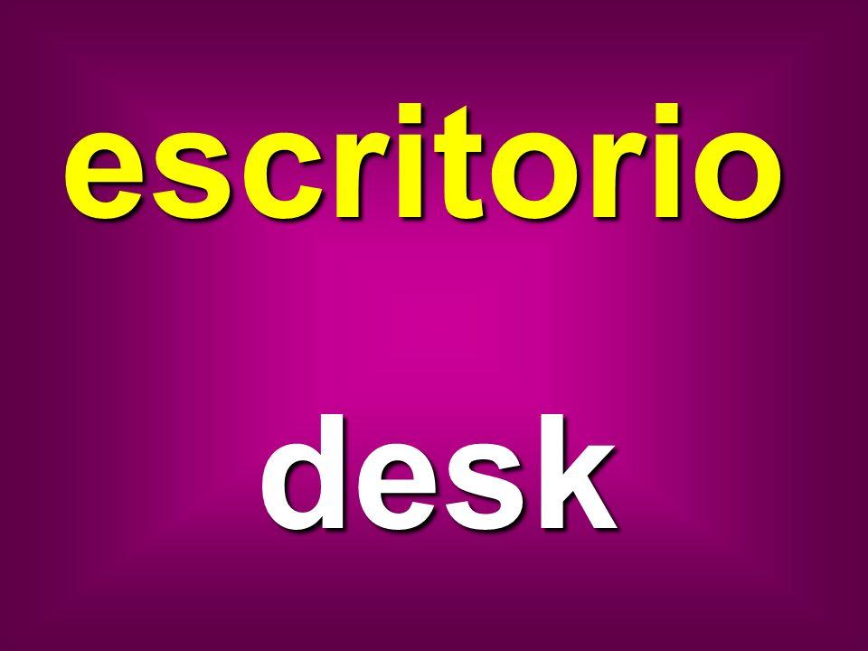 escritorio desk