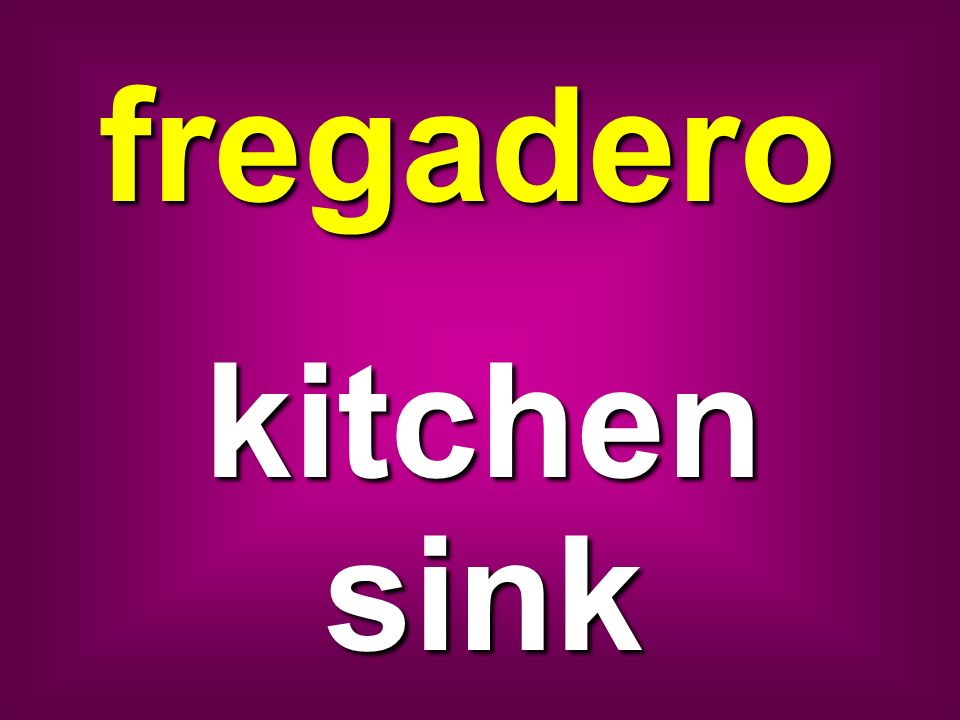 fregadero kitchen sink