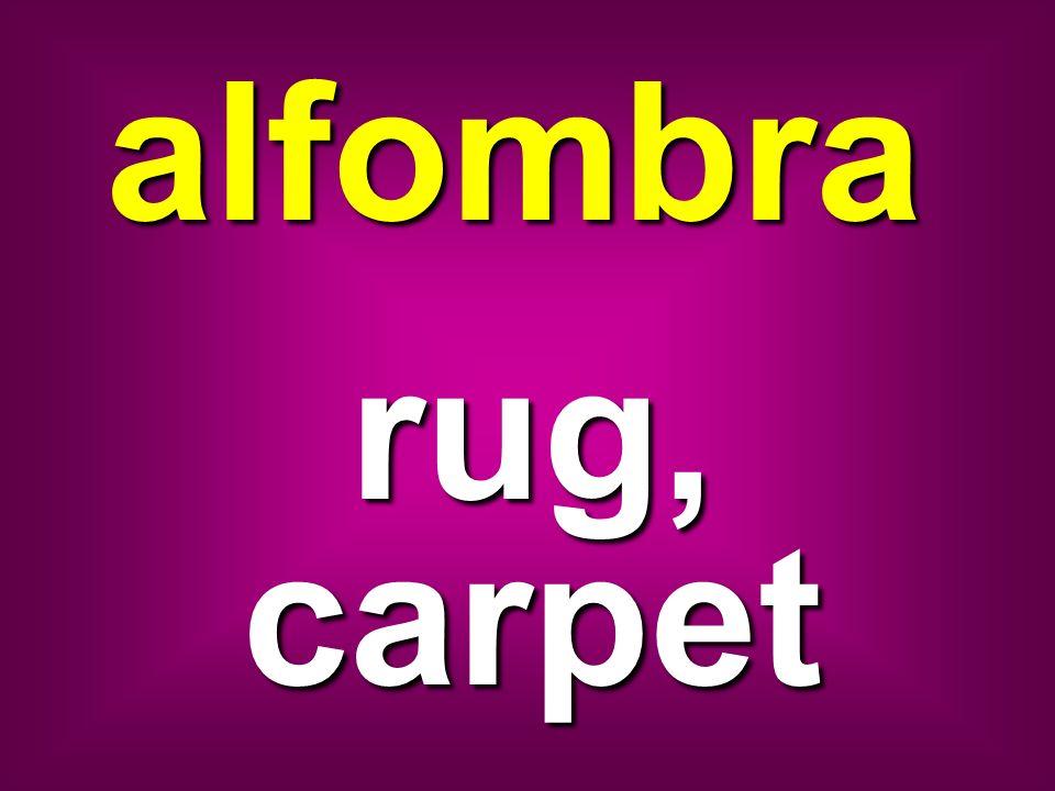 alfombra rug, carpet