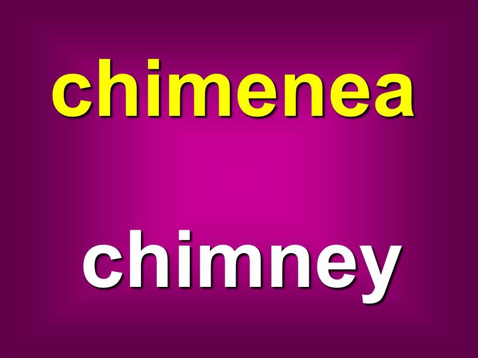 chimenea chimney