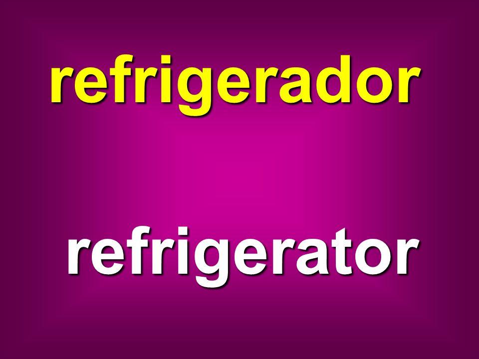 refrigerador refrigerator
