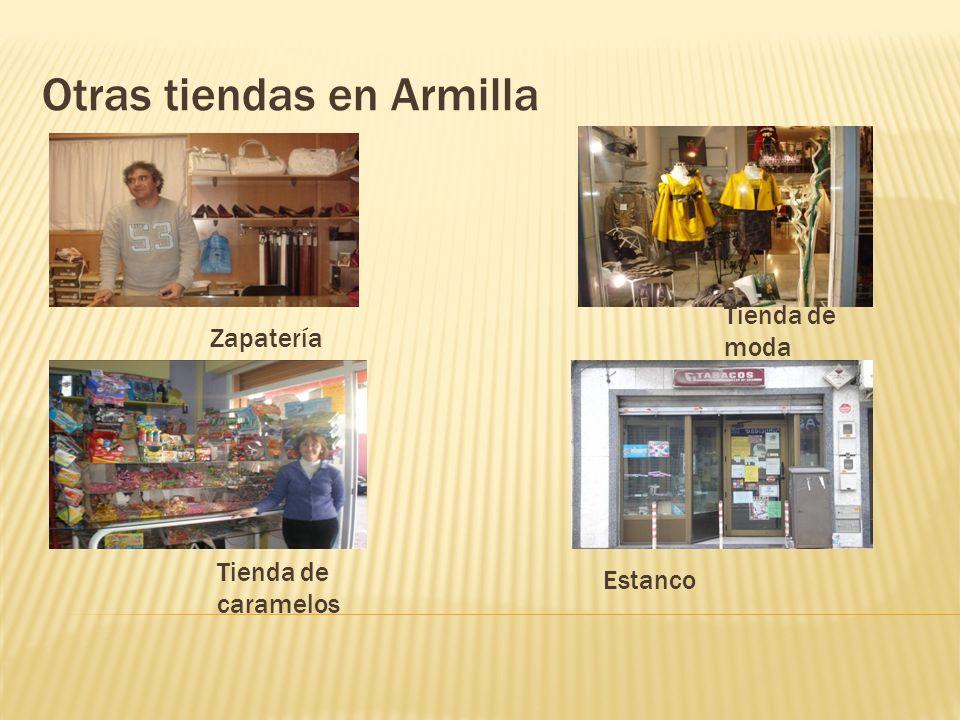 Otras tiendas en Armilla Zapatería Tienda de caramelos Tienda de moda Estanco