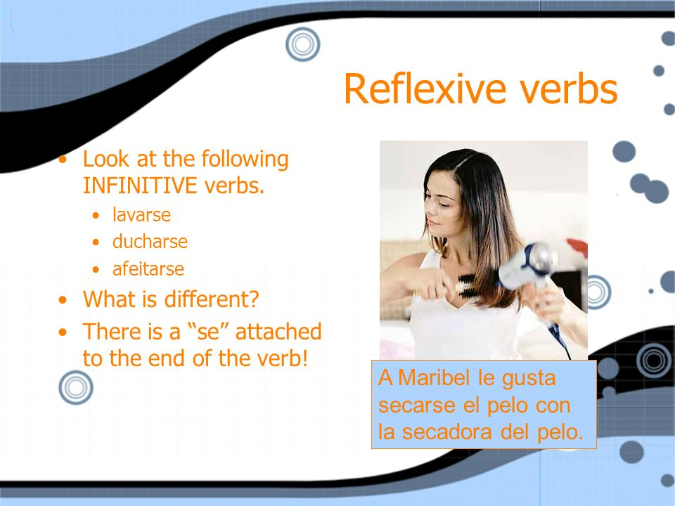 Using reflexive verbs in sentences VC2 Capítulo 3-1