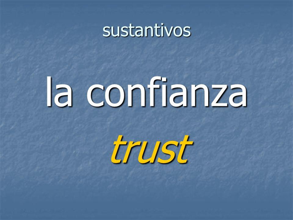 sustantivos trust