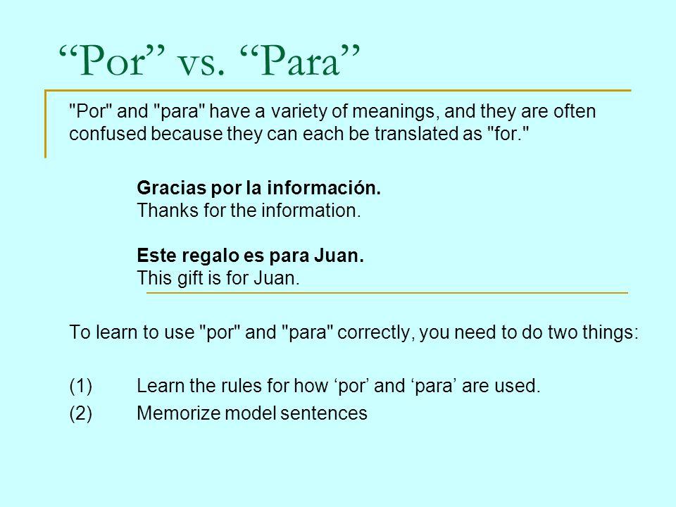 an acronym for Para: P.E.R.F.E.C.T.