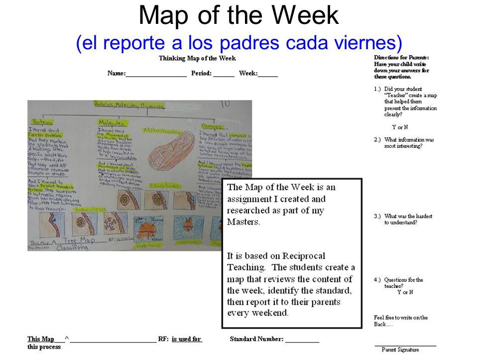 Map of the Week (el reporte a los padres cada viernes)