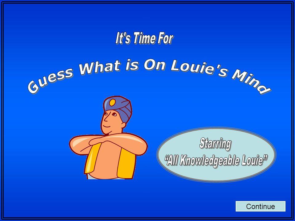 Back to Board Empieza Round Five Louie esta pensando sobre… Historia