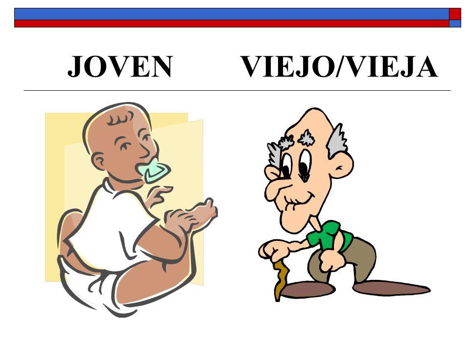 JOVEN VIEJO/VIEJA