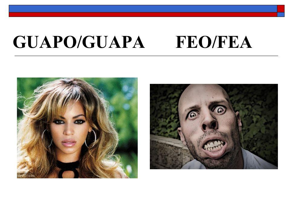 GUAPO/GUAPA FEO/FEA