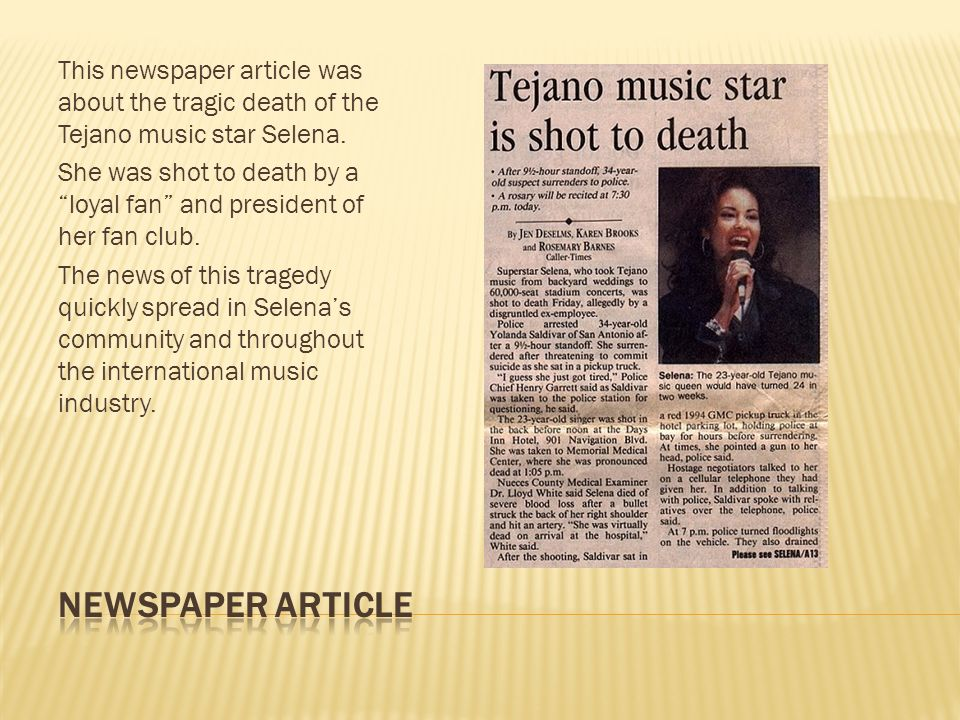Selena s last performance was on March 19, 1995, which took place as a charity concert at a high school to support Just Say No to Drugs .