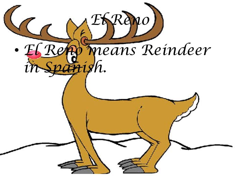 El Reno means Reindeer in Spanish. El Reno