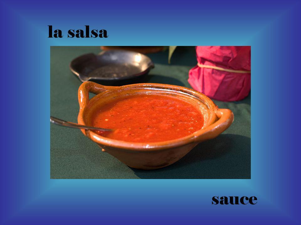 la salsa sauce