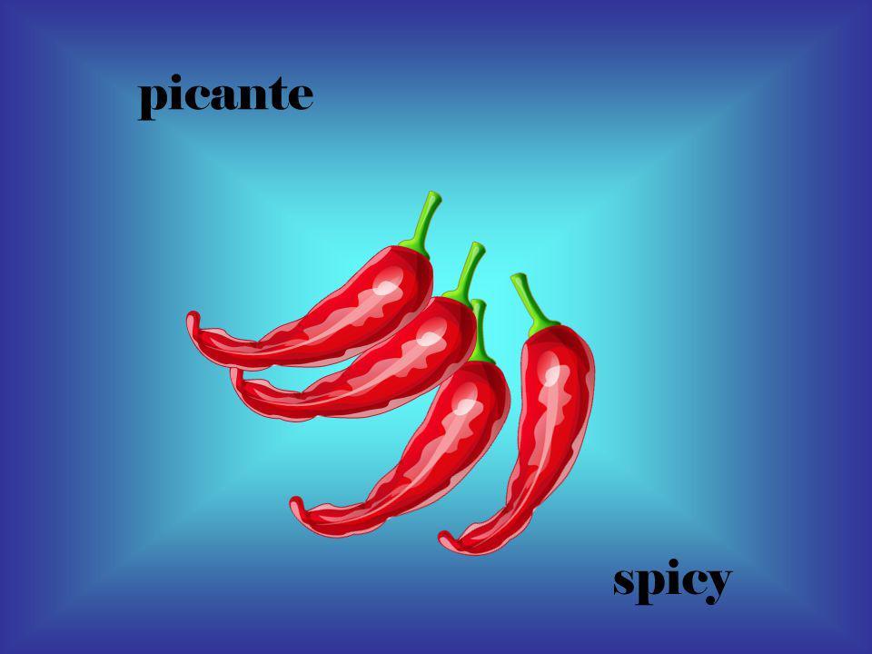 picante spicy
