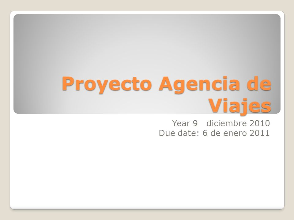 Content of the project In this project, you will advertise a new offer for your Travel agency.