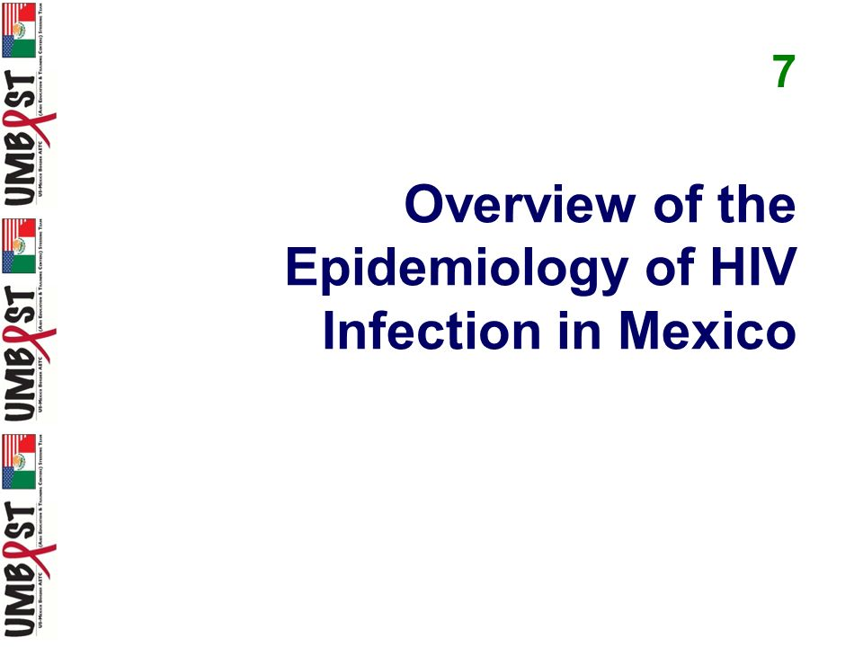 Overview of the Epidemiology of HIV Infection in Mexico 7