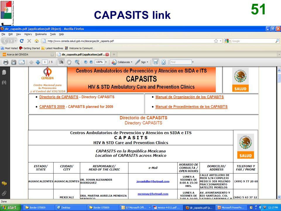 CAPASITS link 51