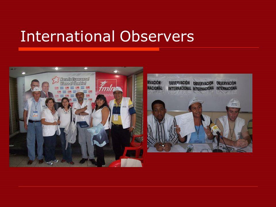 International Observers