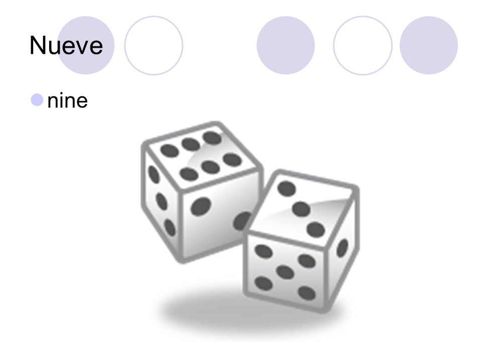 Nueve nine