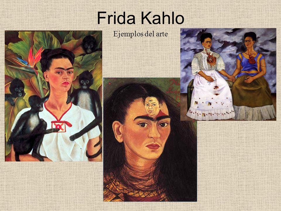 Frida Kahlo Ejemplos del arte