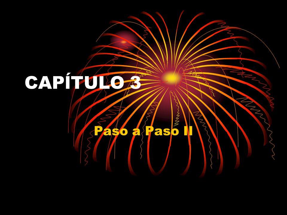 CAPĺTULO 3 Paso a Paso II